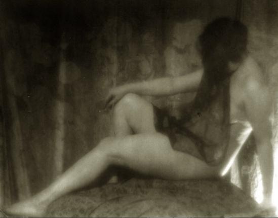 Alexander Danilovich Grinberg- Study of nude, Marguerite Chardinina ,1925-30