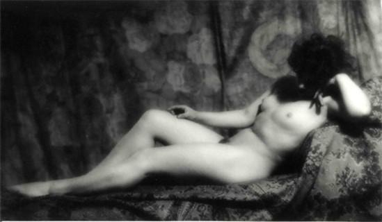 Alexander Danilovich Grinberg- Study of nude, Marguerite Chardinina ,1920s