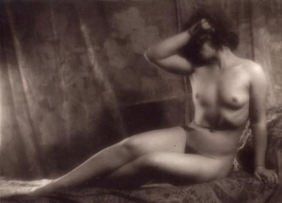 Alexander Danilovich Grinberg- Study of nude, Nina Fralou1925-30