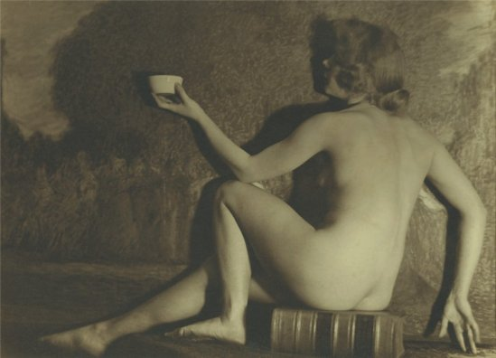 Alexander Danilovich Grinberg- Nude Study 1920