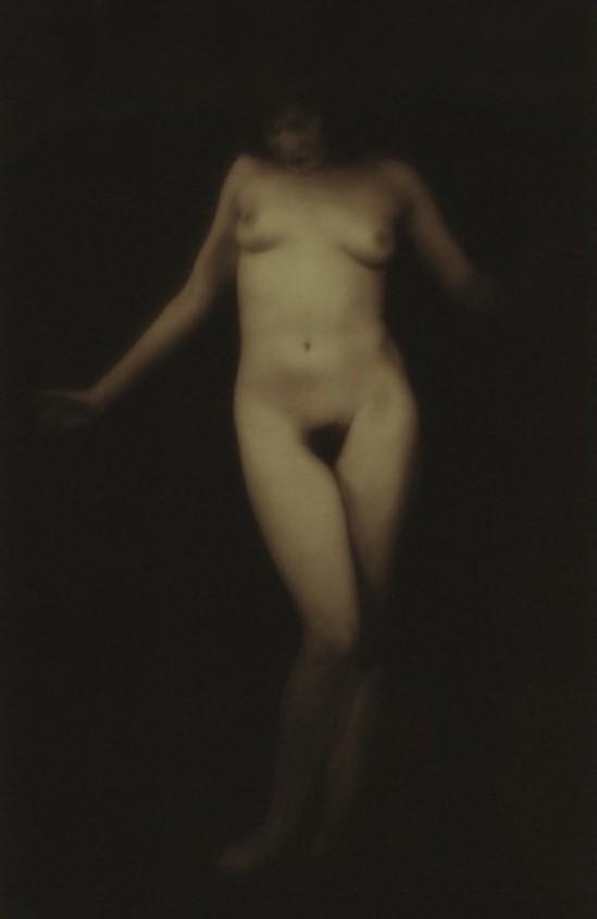Alexander Grinberg- Nude Study, Dark Tone, 1930
