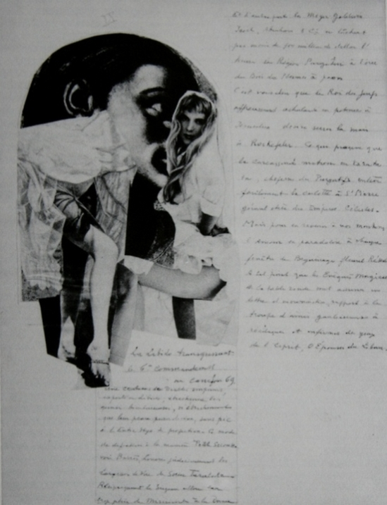 Paul Joostens - Homocentrism, Collage, 1937