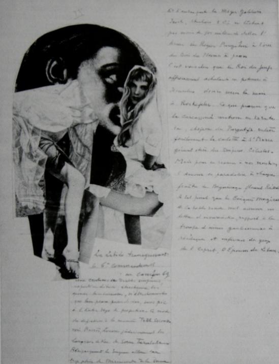 Paul Joostens - Homocentrism, Collage, 1937