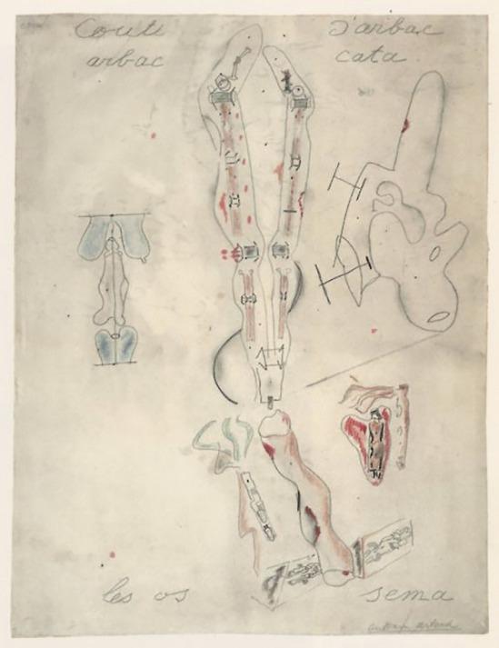 Antonin Artaud- Couti l'anatomie, septembre 1945