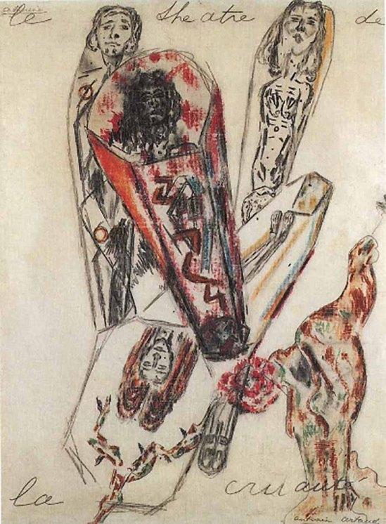 Antonin Artaud – Le Théâtre de la cruauté,1946