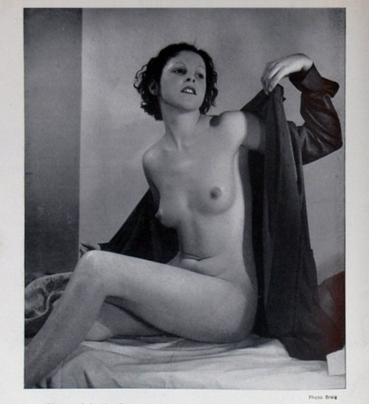 Braig - Etude de nu, Paris Magazine, May 1935