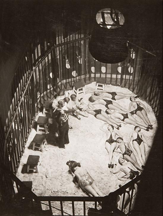 Brassaï (Gyula Halasz) (1889 - 1984) la cage aux fauves, 1932 Gelatin silver print, printed c.1932