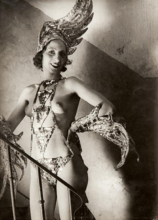 Brassaï (Gyula Halasz) (1889 - 1984) l'oiseau de feu' aux folies bergeres, c.1932 Gelatin silver print, printed c.1932;