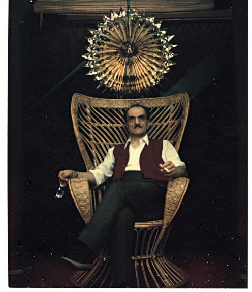 Carlo Mollino-Self -Portrait polaroid-1962-73.