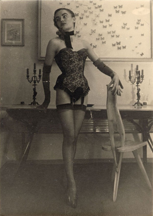 Carlo Mollino- Photographs 1956-1962 image courtesy museo casa mollino