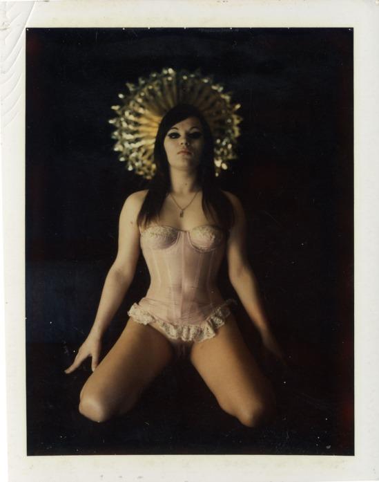 Carlo Mollino-Untitled polaroid, Turin, ealy 1960s courtesy museo  mollino