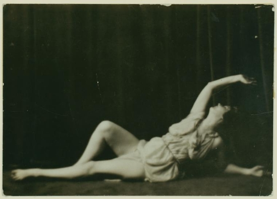 Duncan, Isadora  by Arnold Genthe ,1916.[ collection Mary Fanton Roberts.]