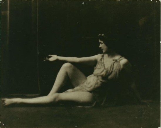 Duncan, Isadora  by Arnold Genthe.,1916  [Irma Duncan Collection.]