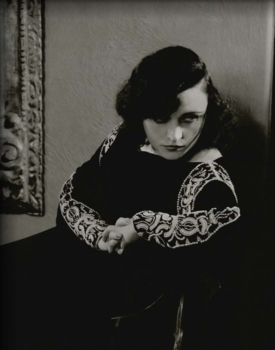 Edward Steichen- Pola Negri , for Vanity Fair,January 1932