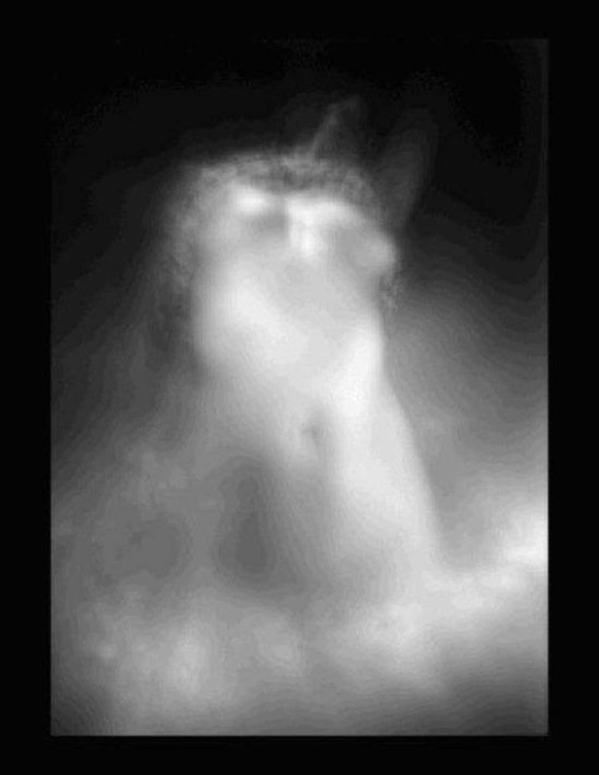 Eliane Excoffier- série obscures 2004