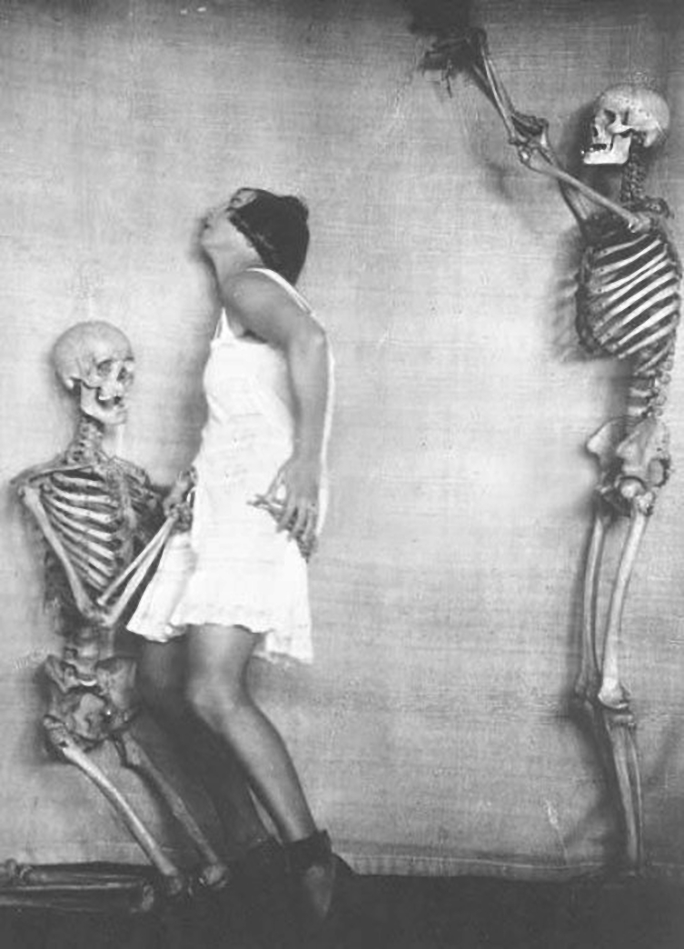 Franz Fiedler -Erotischer Totentanz, 1923