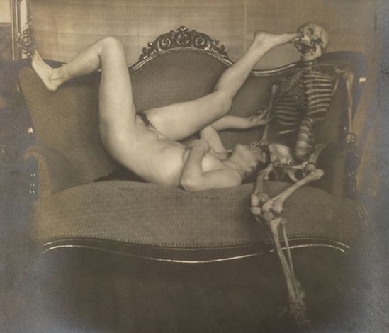 Franz Fiedler-From the portfolio narre tod, mein spielgesell [fool death, my playmate, 1922