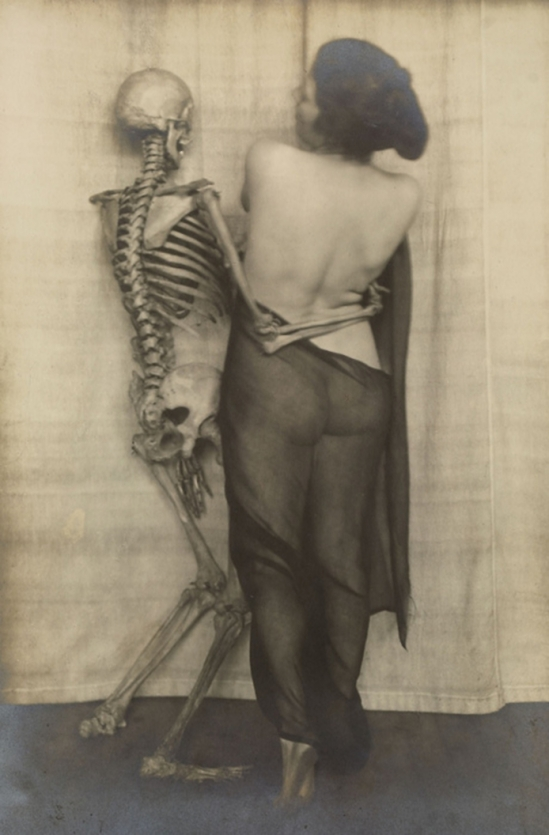 Franz Fiedler-From the portfolio narre tod, mein spielgesell [fool death, my playmate], 1922