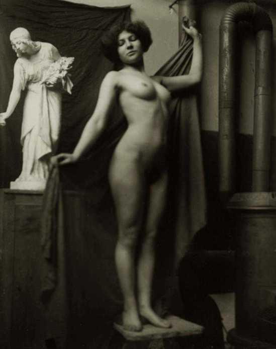 Heinrich Zille-  - akt , 1899-1900