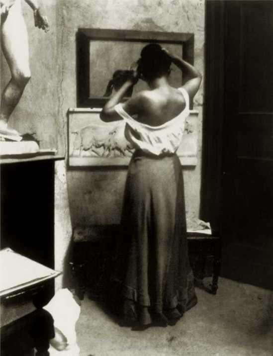 Heinrich Zille- modelstudie, omstreeks 1900-03