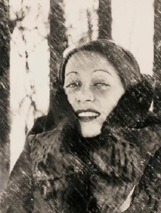 Heinz Hajek-Halke – Bei Schnneetreiben (sous la neigne ) Katharina Berger 1932