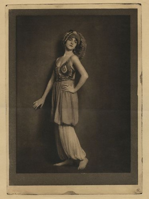 Henry Buergel Goodwin- Gabo Falk, 1917, photogravure