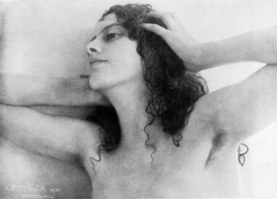 Henry B. Goodwin -portrait Vaitt-Hair,Karin-Bergstrom 1920.