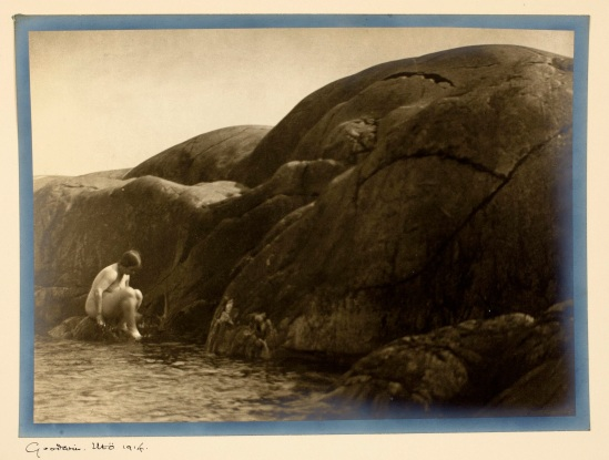 Henry B. Goodwin Utö 1914, gelatin silver print