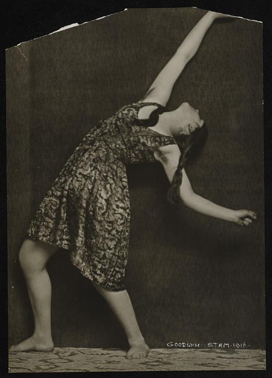 Henry Buergel Goodwin- Dancer, 1916