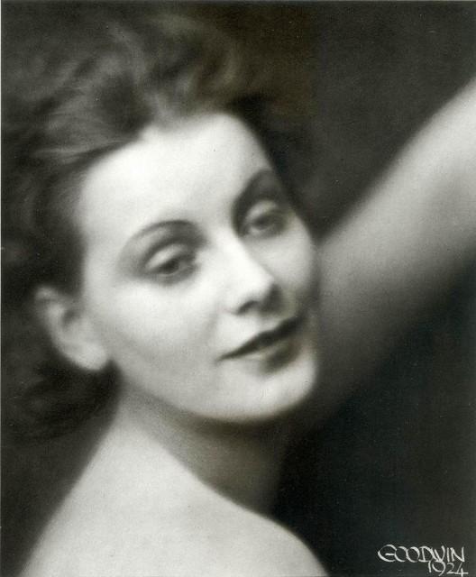 Henry Buergel Goodwin- Greta Garbo,, 1924, photogravure