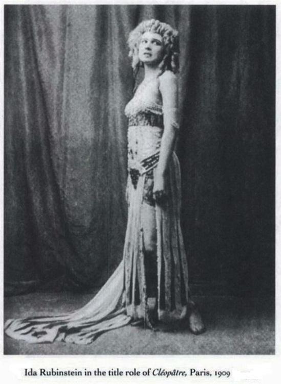 Ida Rubinstein- CleopatrE, 1909