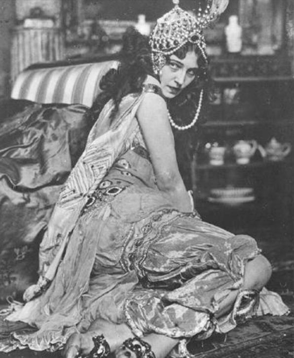 ida rubinstein as zobeida in schéhérazade (diaghilev, 1910)