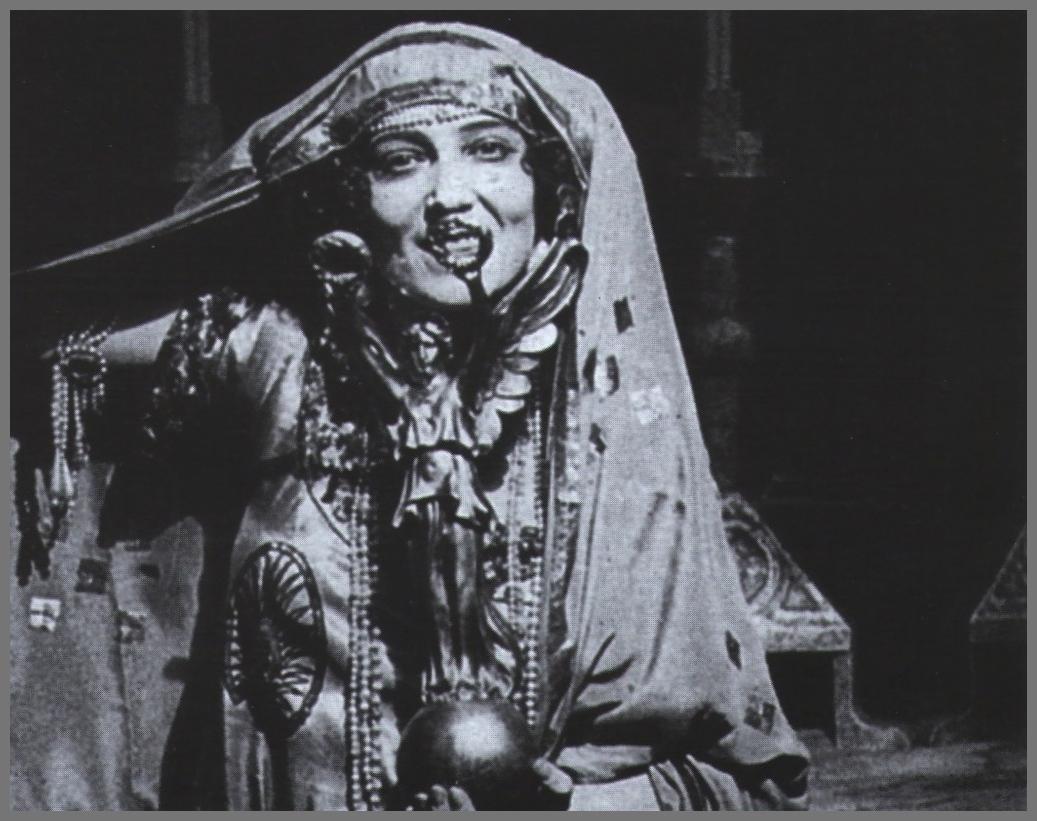 Ida Rubinstein still from La Nave ( silent movie),1921