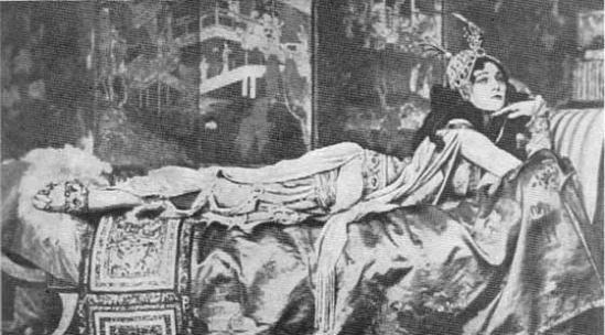 Ida Rubinstein in Scheherazade 1910