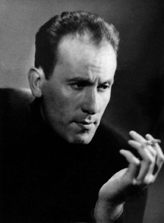 Jacques Irisson -René Char- (vers 1947). [Image tirée du catalogue « René Char », BNF (mai 2007)]