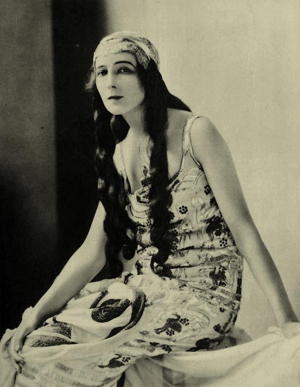 James Abbe- Ida Rubinstein, 1923 2