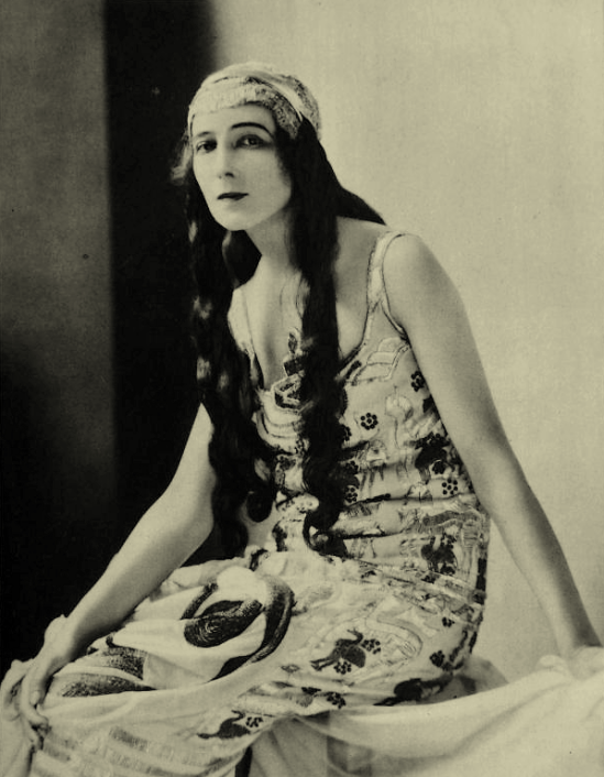 James Abbe- Ida Rubinstein, 1923 2