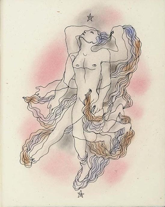 Jean Cocteau - Illustration pour le Livre Blanc, 1930