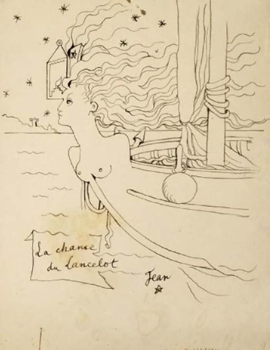 Jean Cocteau - LA CHANCE DE LANCELOT, VERS 1937