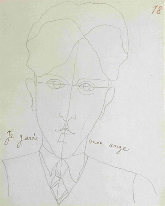 Jean Cocteau, Le mystère de Jean l'oiseleur n°18, 1924