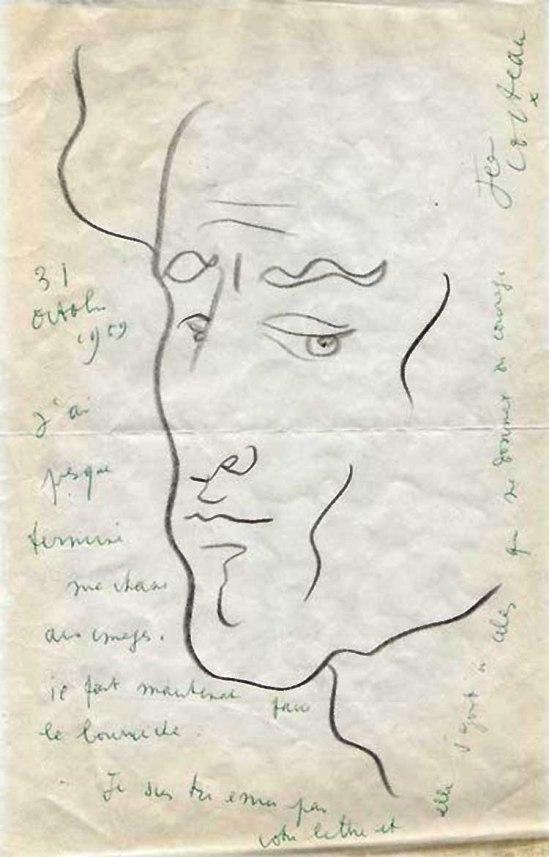 Jean Cocteau - Untitled, 1931