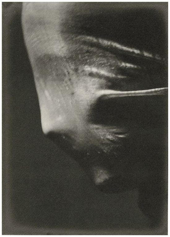 Josef Sudek- Veiled Woman  Profile , 1942