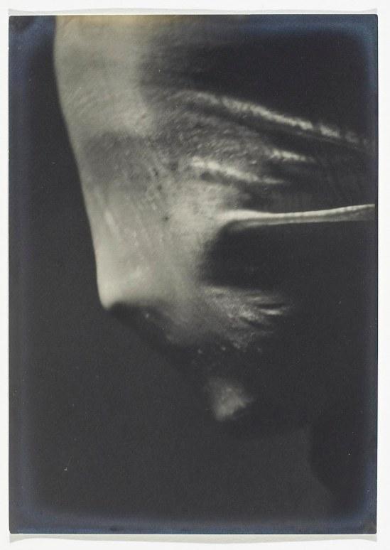 Josef Sudek- Veiled Woman  Profile , 1942