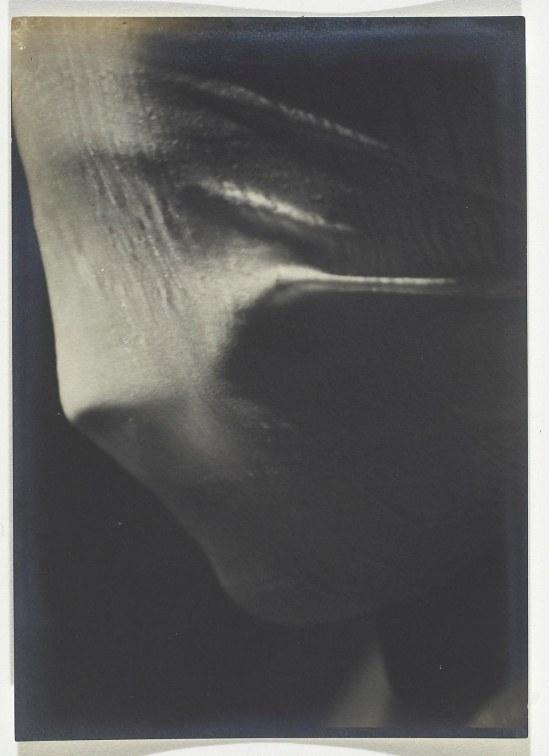 Josef Sudek- Veiled Woman  Profile Detail 1942