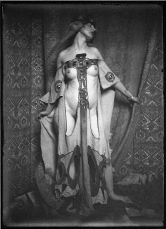 Lejaren A Hiller, Woman in Costume, 1920