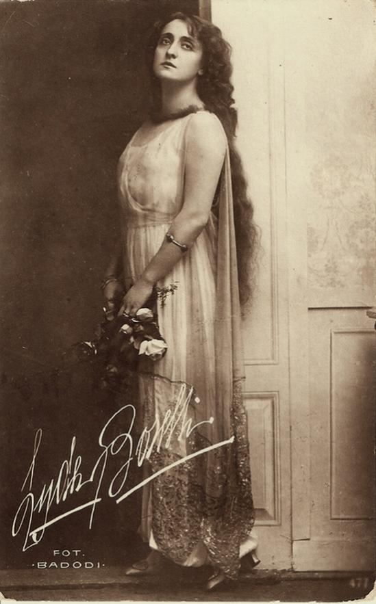 Lyda Borelli by Badidi fotographia , 1910-15s