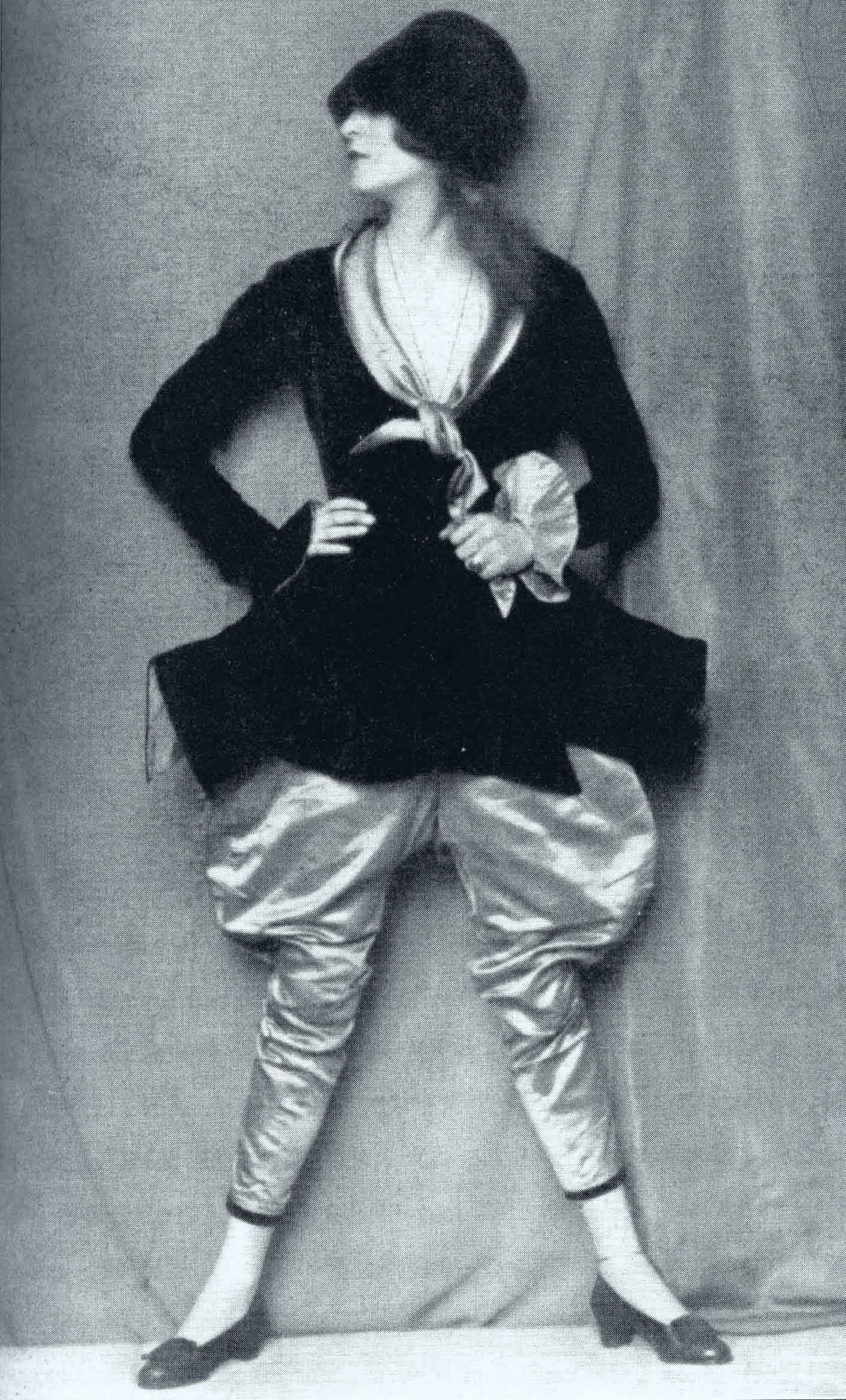 Madame d'Ora- Anita Beber,as a Spanish Dandy in Caprice Espagnol. , 1922
