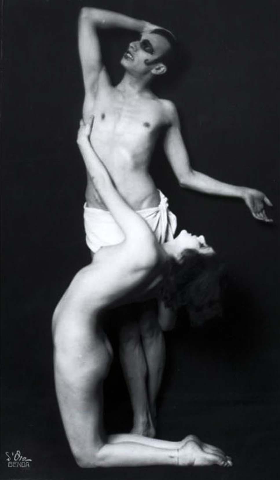 Madame d'Ora- Anita Berber und Sebastian Droste, 1922