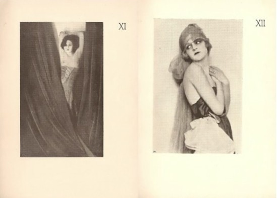 Madame d'ora - photography for Dances of Vice, Horror, & Ecstasy written and danced, by Anita Berber & Sebastian Droste, 1923