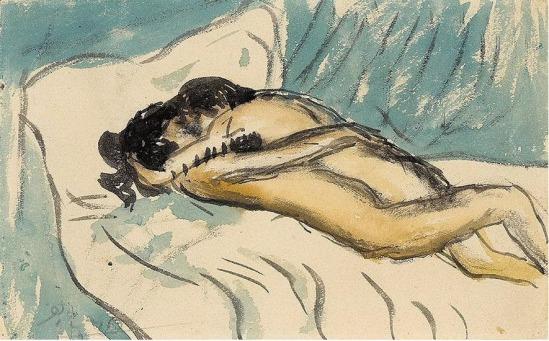 Pablo Picasso- Etreinte 1901